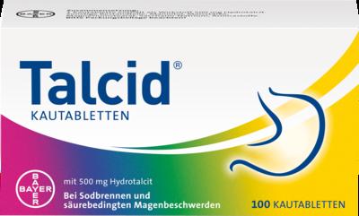 Talcid Kautabletten 100 St