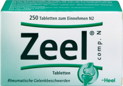 Zeel comp.N Tabletten 250 St