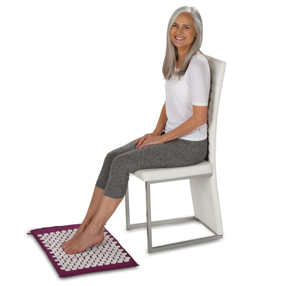 Stimulation der Fußreflexzonen!