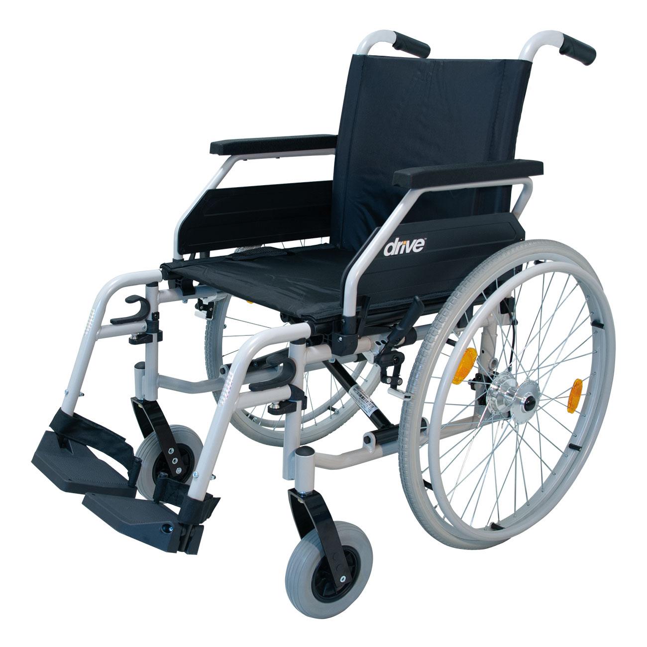 Mit dem leichten und wendigen Rollstuhl »Ecotec 2G« bewahren Sie sich zu Hause und draußen Ihre Mobilität.