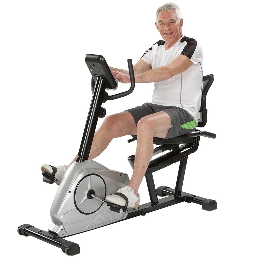 Komfortables Training zur Kräftigung der Unterkörpermuskulatur