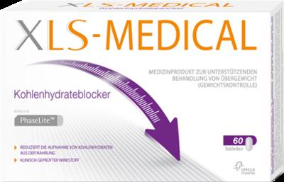 XLS Medical Kohlenhydrateblocker Tabletten 60 St