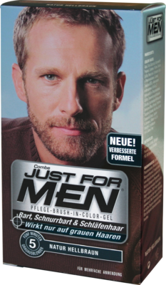 Just for men Brush in Color Gel hellbraun 28.4 ml