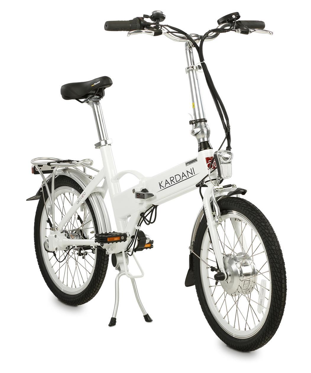 Das aktivelo Kardani bietet Ihnen ein modernes Faltrad mit wartungsfreiem Kardanantrieb.
