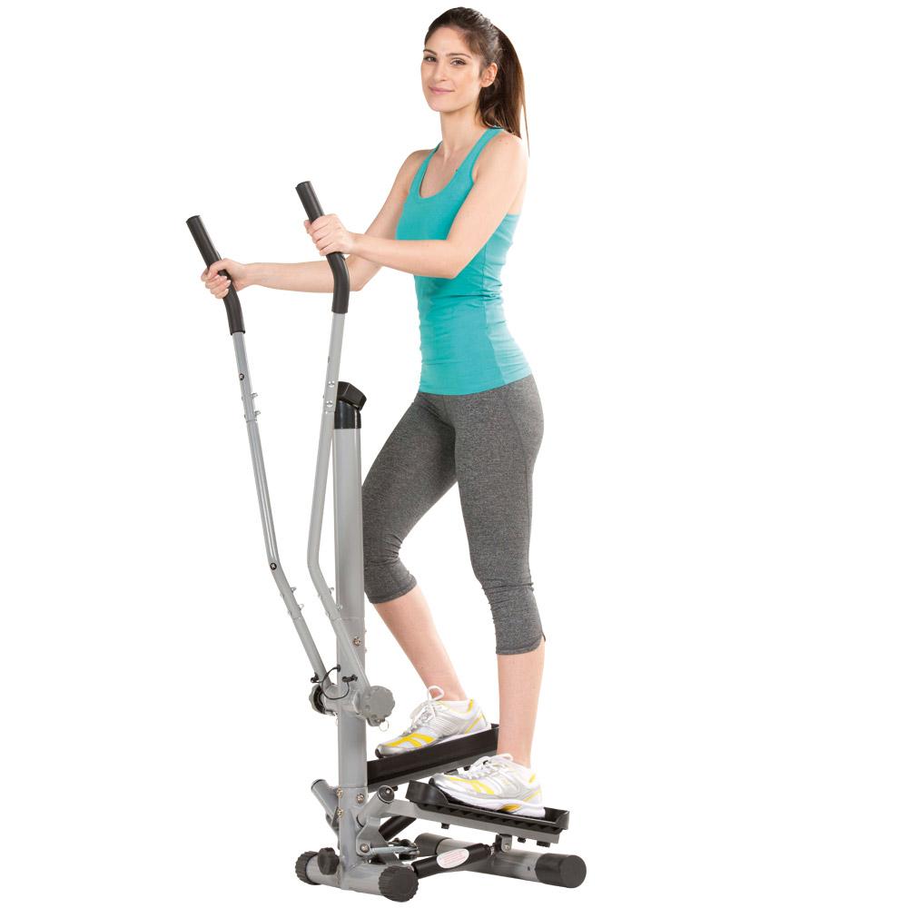 Der Aktiv-Side-Stepper bietet Ihnen ein vielseitiges Training!