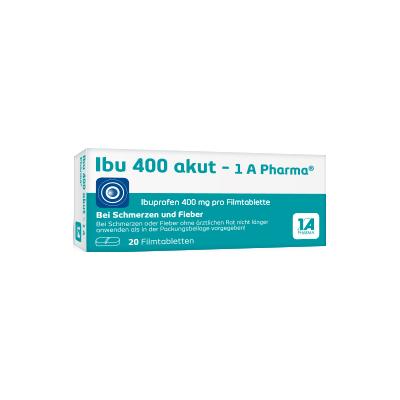 IBU 400 akut-1A Pharma Filmtabletten 20 St