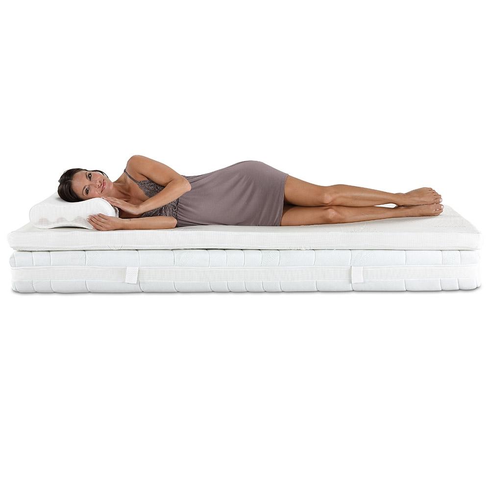 Gesund schlafen & erholsam aufwachen mit dem Sparset De Luxe.