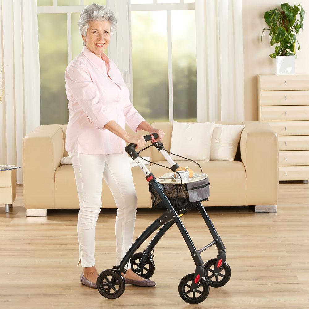 Klein und wendig: für unkomplizierte Mobilität zu Hause.