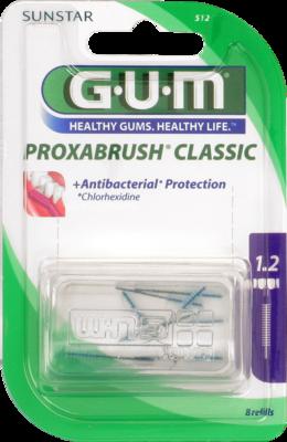 GUM Proxabrush Ersatzbürsten Kerze 8 St