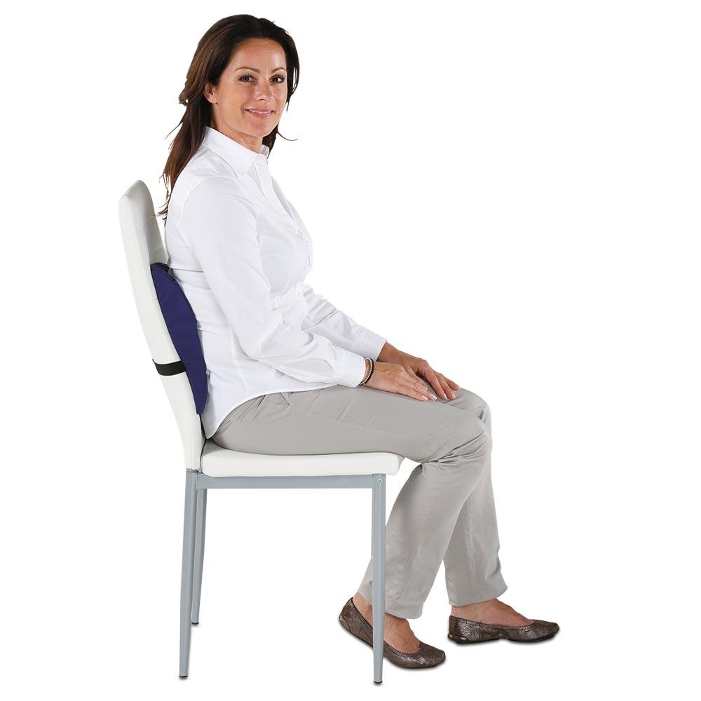Entspanntes Sitzen auf jedem Stuhl!