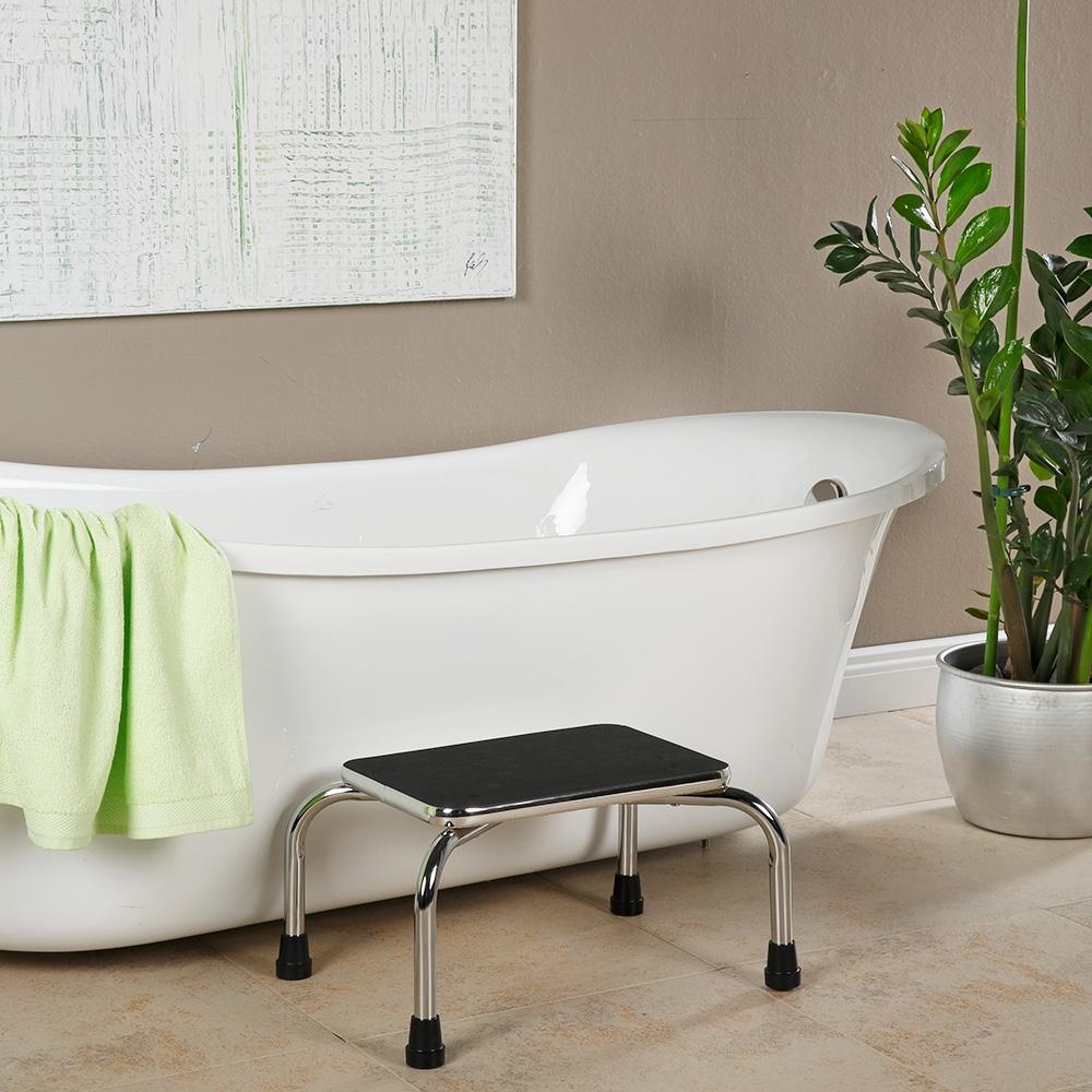 Perfekt geeignet als Badewannen-Einstiegshilfe.