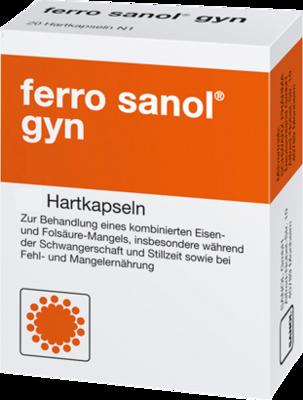 Ferro Sanol gyn Hartkaps.m.msr.überz.Pellets 50 St