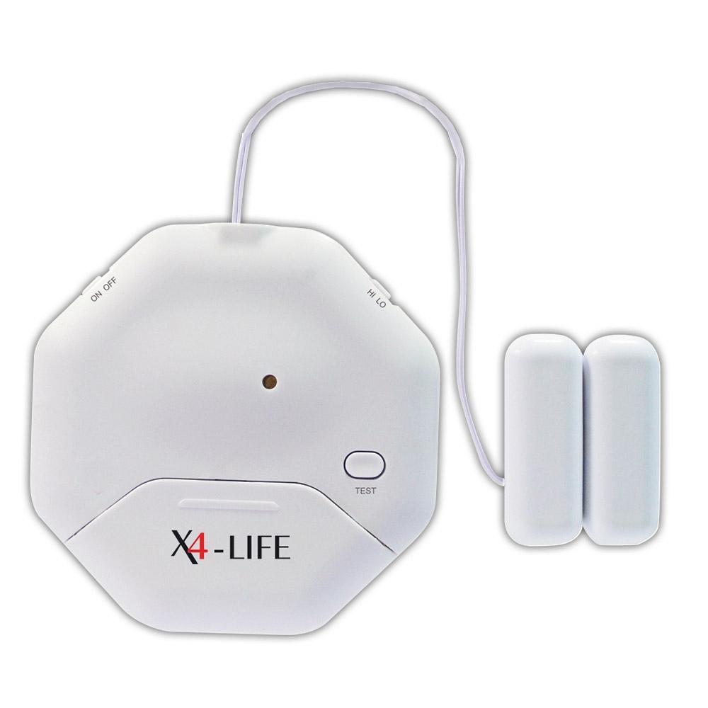 Vibrationen lösen den 95 dB lauten Alarm aus, der Nachbarn alarmieren und Einbrecher vertreiben kann.