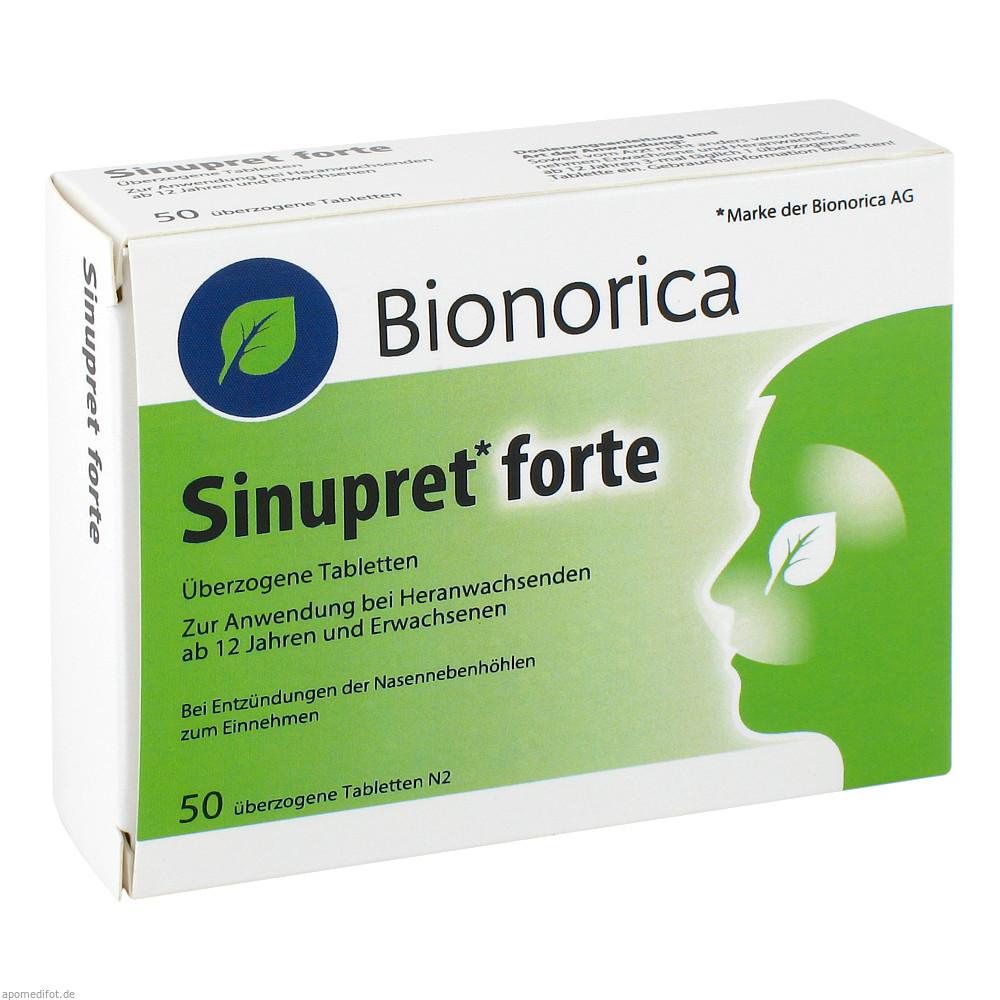 Sinupret forte überzogene Tabletten 50 St