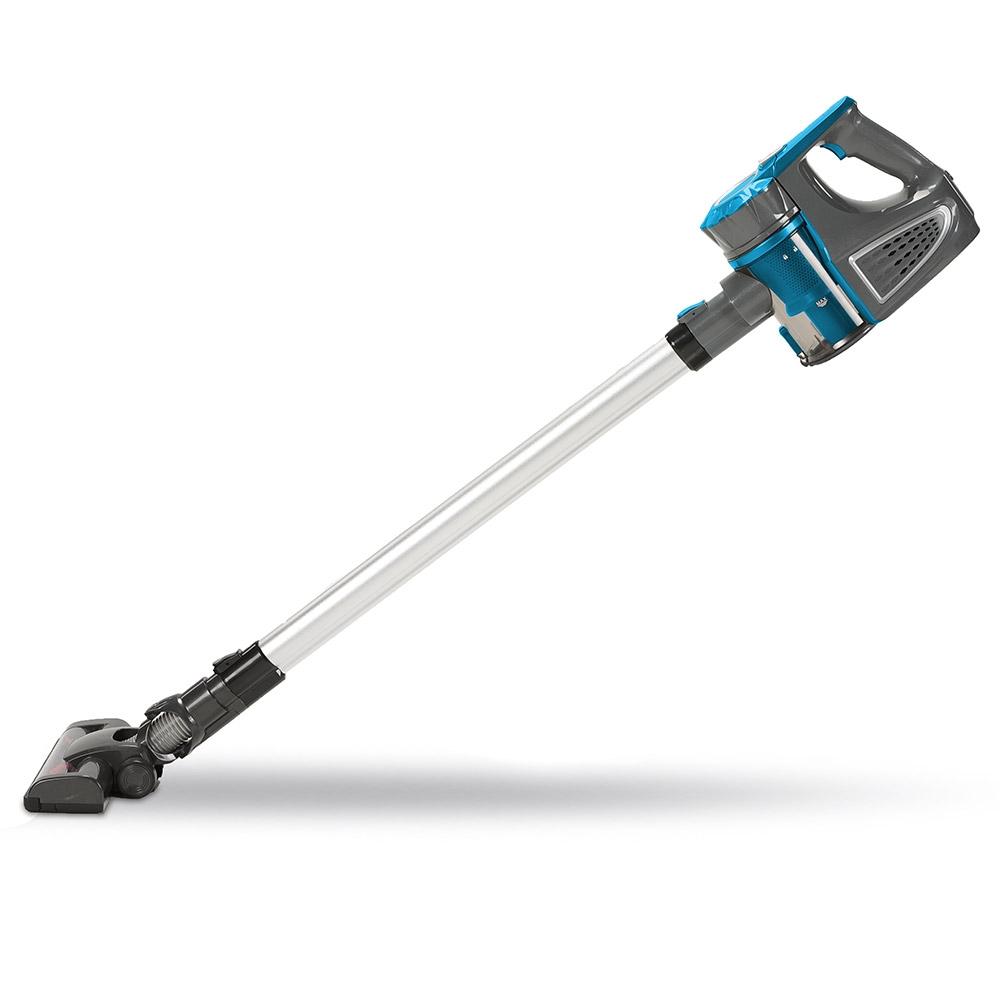 Reinigen Sie Ihr Zuhause mit diesem praktischen Akku-Staubsauger schnell und zuverlässig!