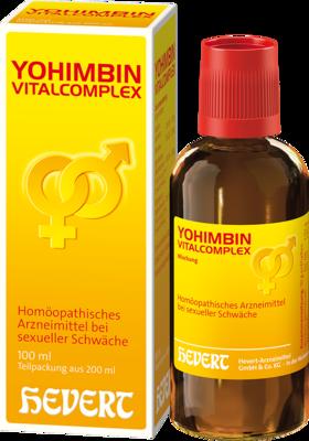 Yohimbin Vitalcomplex Hevert Tropfen 200 ml