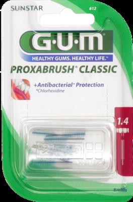 GUM Proxabrush Ersatzbürsten 0,7 mm Kerze 8 St
