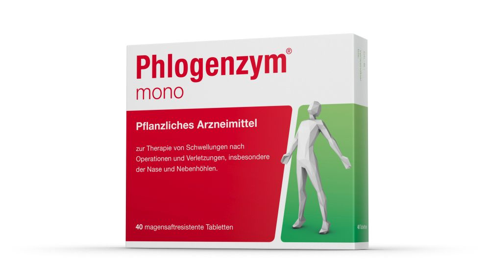 Phlogenzym mono magensaftresistente Tabletten 40 St