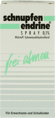Schnupfen Endrine 0,1% Nasenspray 10 ml
