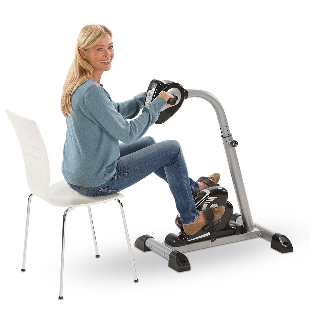 Der Arm- und Beintrainer 2in1 mit Motor bietet Ihnen ein gelenkschonendes, passives Training von Armen und Beinen.