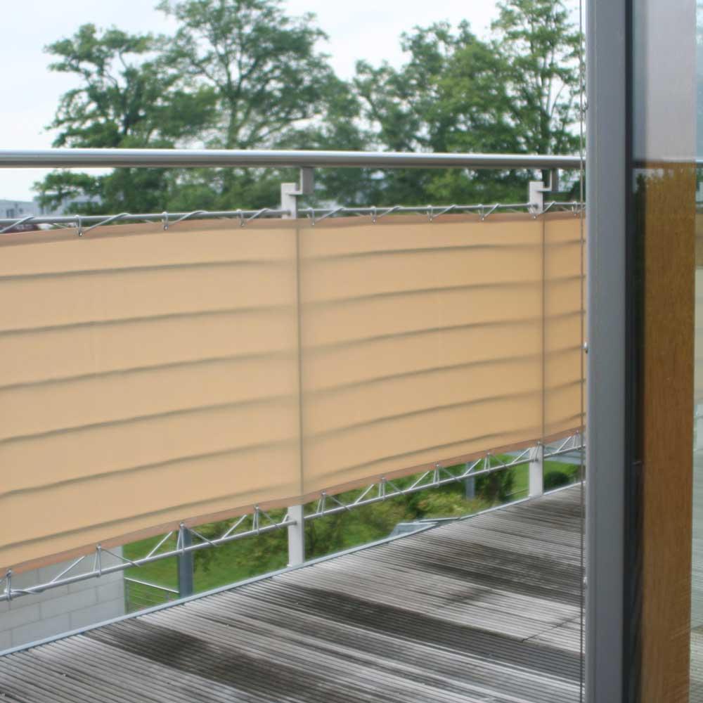 Optimaler Sichtschutz auf Ihrem Balkon.