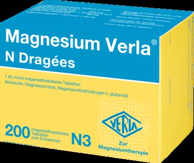 Magnesium Verla N Dragees 200 St
