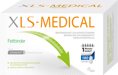XLS Medical Fettbinder Tabletten Monatspackung 180 St