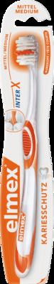 Elmex interX medium Kurzkopf Zahnbürste 1 St