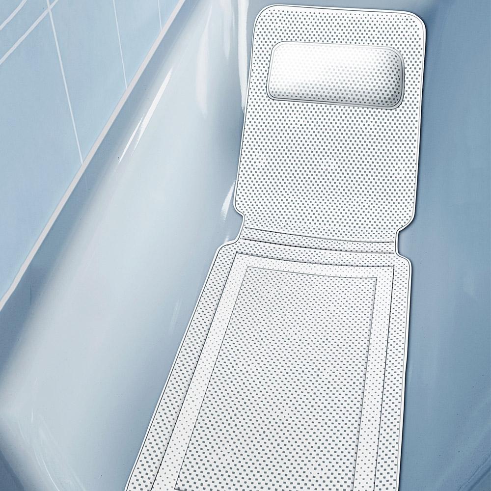 Genießen Sie mit der Anti-Rutsch-Badewanneneinlage ein neues Wellness-Feeling in Ihrer Badewanne!