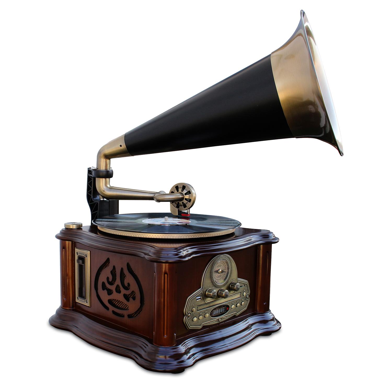 Grammophon-Plattenspieleranlage »Retro«