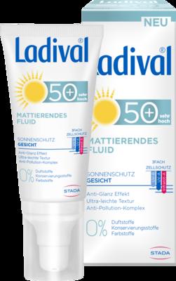 Ladival Sonnenschutz Gesicht Fluid matt.LSF 50+ 50 ml