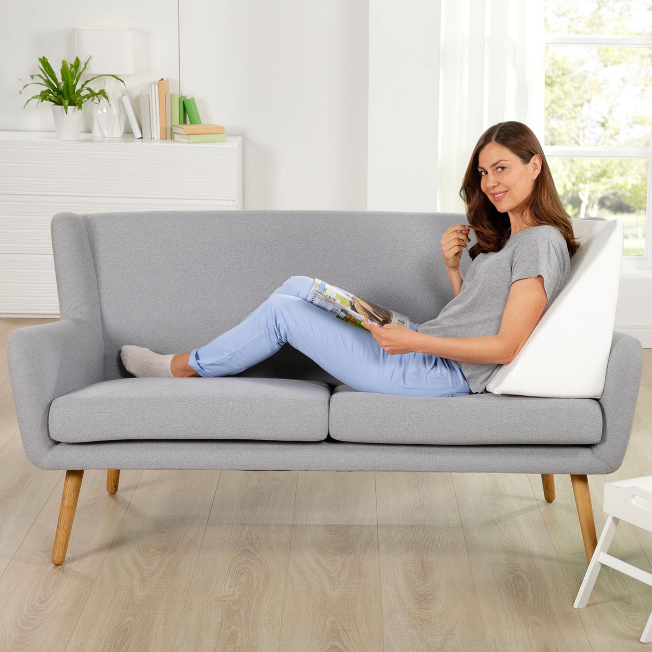 Bett und Sofa Keilkissen