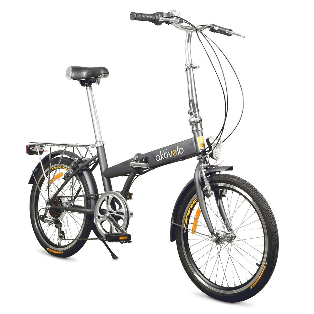 Das aktivelo Faltrad mit stabilem, faltbarem Stahlrahmen für uneingeschränkte Mobilität und Fahrkomfort.