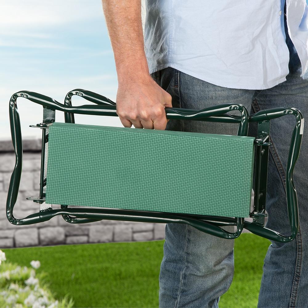 Platzsparend klappbar und einfach zu transportieren.