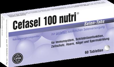 Cefasel 100 nutri Selen-Tabs 60 St