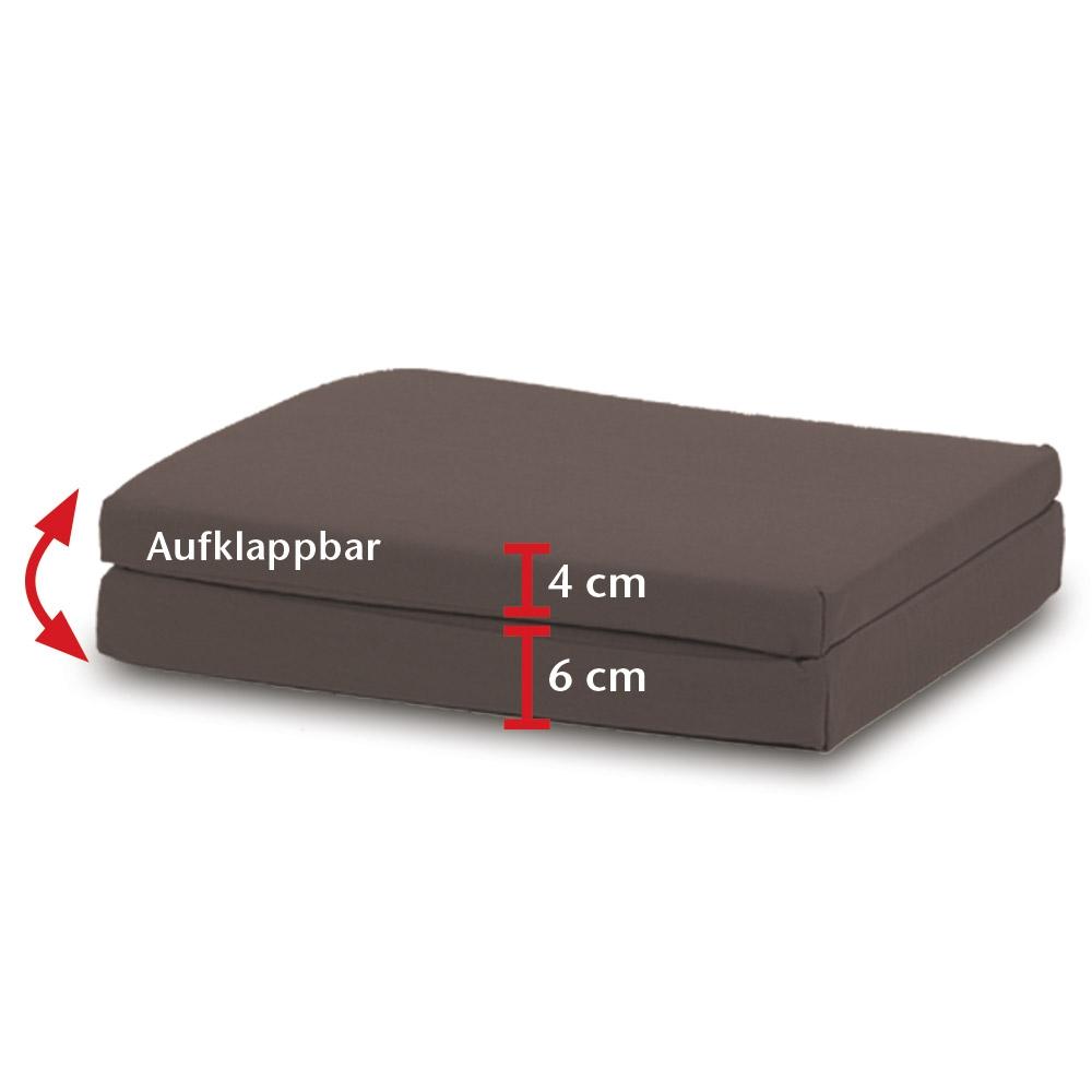 Das praktische Kissen bietet Ihnen verschiedene Anwendungsmöglichkeiten.