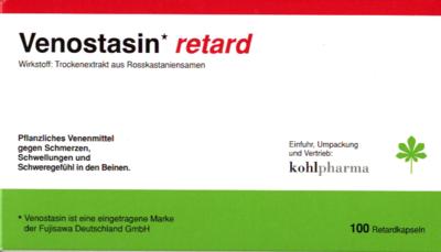 Venostasin retard 50 mg Hartkapsel retardiert 100 St