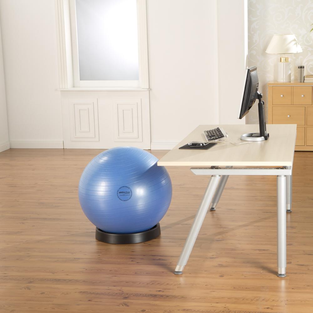 Ballschale für Sitzball / Fitnessball