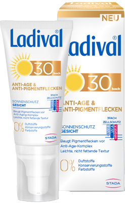 Ladival Sonnenschutz Gesicht Anti-Pigm.Cr.LSF 30 50 ml