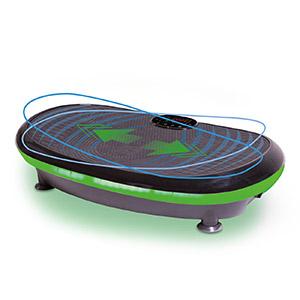 Vibrationsplatte aktiv »Curved 4D« mit Bodenschutzmatte