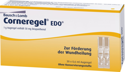 Corneregel EDO Augengel 30X0.6 ml