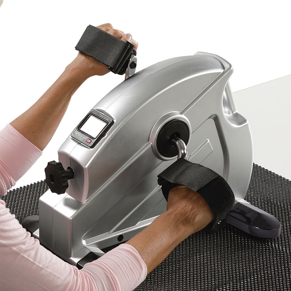 Ob Beine, Arme oder Schultern – mit dem Mini Heimtrainer 2.0 mit Anti Rutschmatte trainieren Sie gezielt die Muskelgruppen, die Sie stärken und mobilisieren möchten