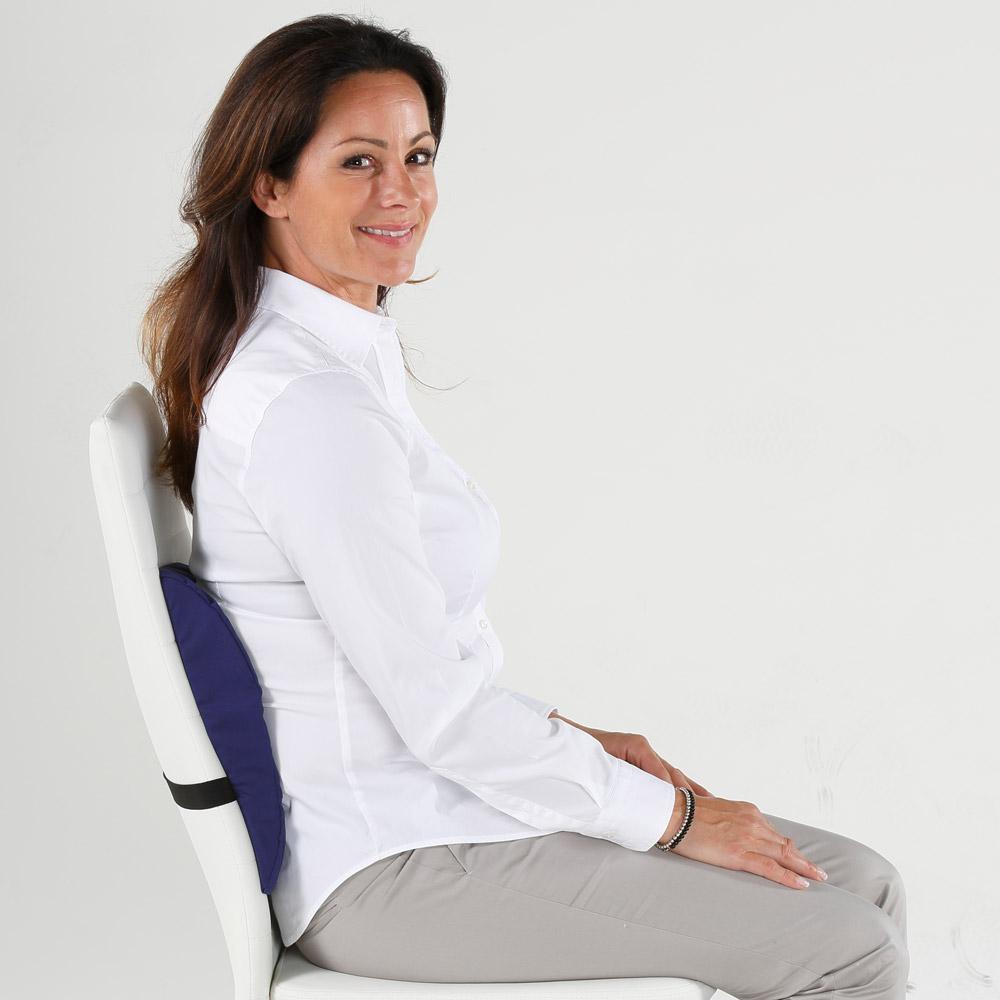 So sitzen Sie immer in einer anatomisch korrekten Position.