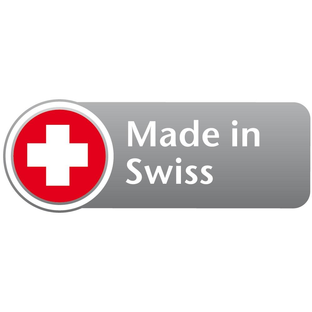 Qualtität aus der Schweiz.