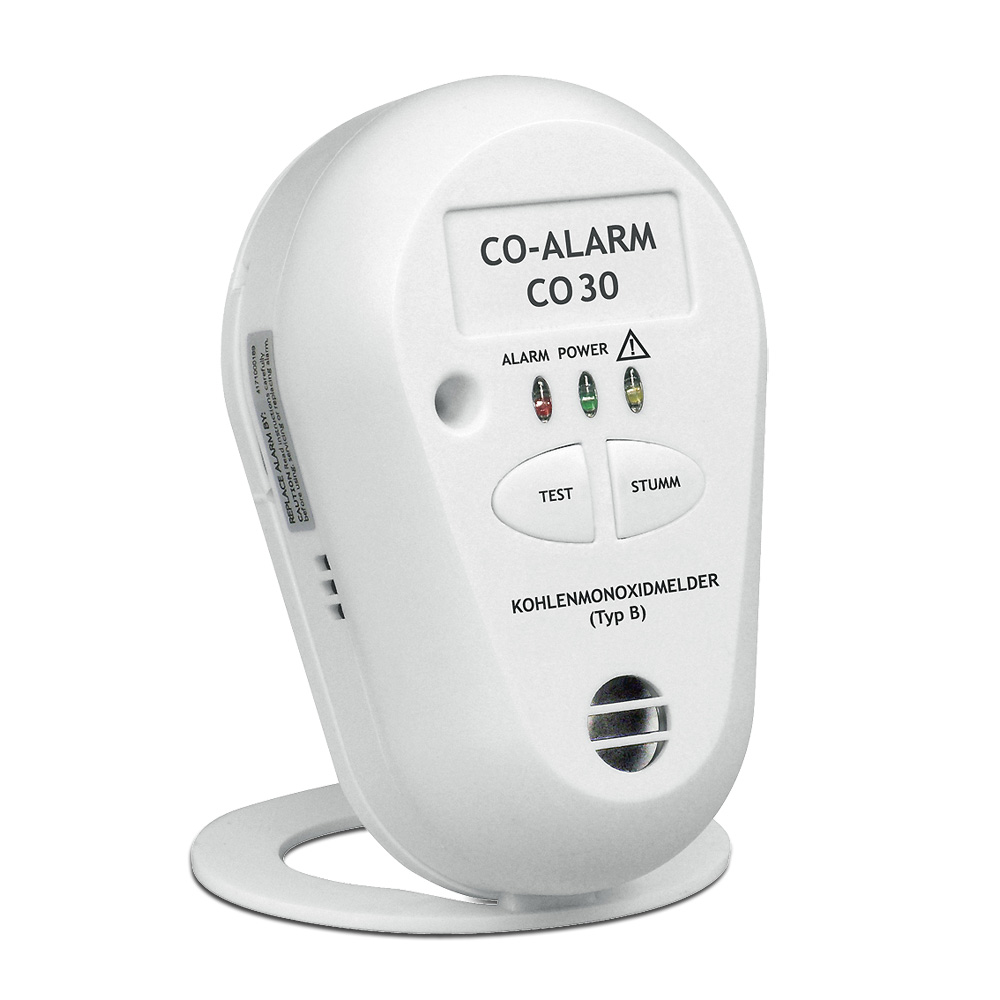 Der CO-Melder warnt Sie mit einem lauten Alarmton vor giftigem Kohlenmonoxid.