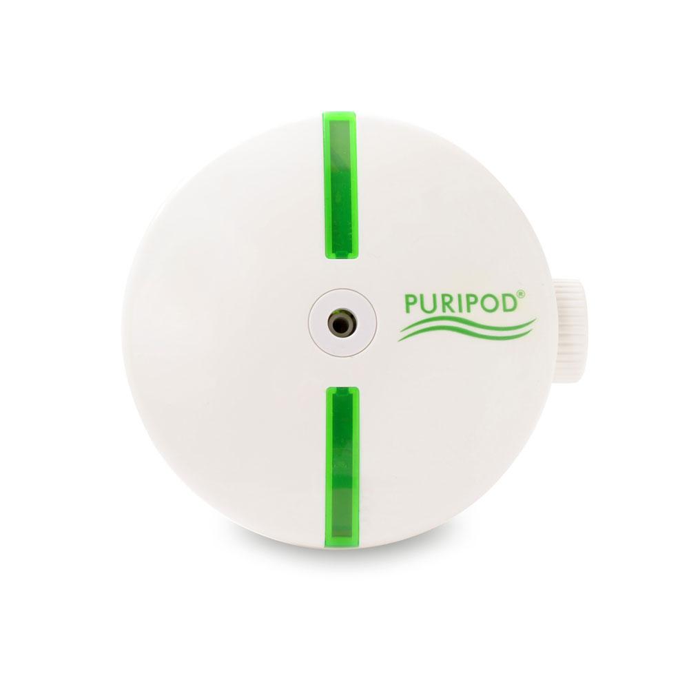 Lautloser Ionenluftreiniger »Puripod®« – der schnelle und leistungsstarke Luftreiniger für die Steckdose.