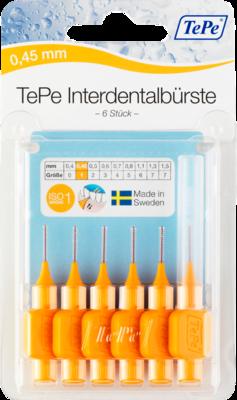 Tepe Interdentalbürste 0,45mm orange 6 St