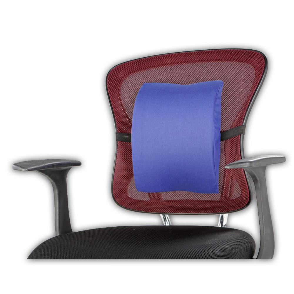 Das Kissen lässt sich mühelos an jedem Stuhl befestigen!