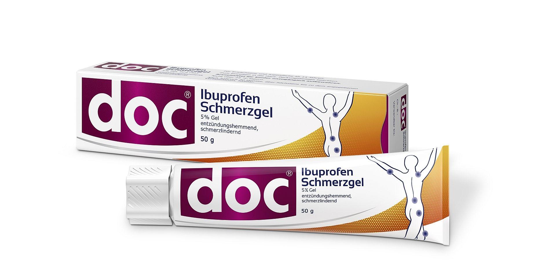 DOC Ibuprofen Schmerzgel 5% 50 g