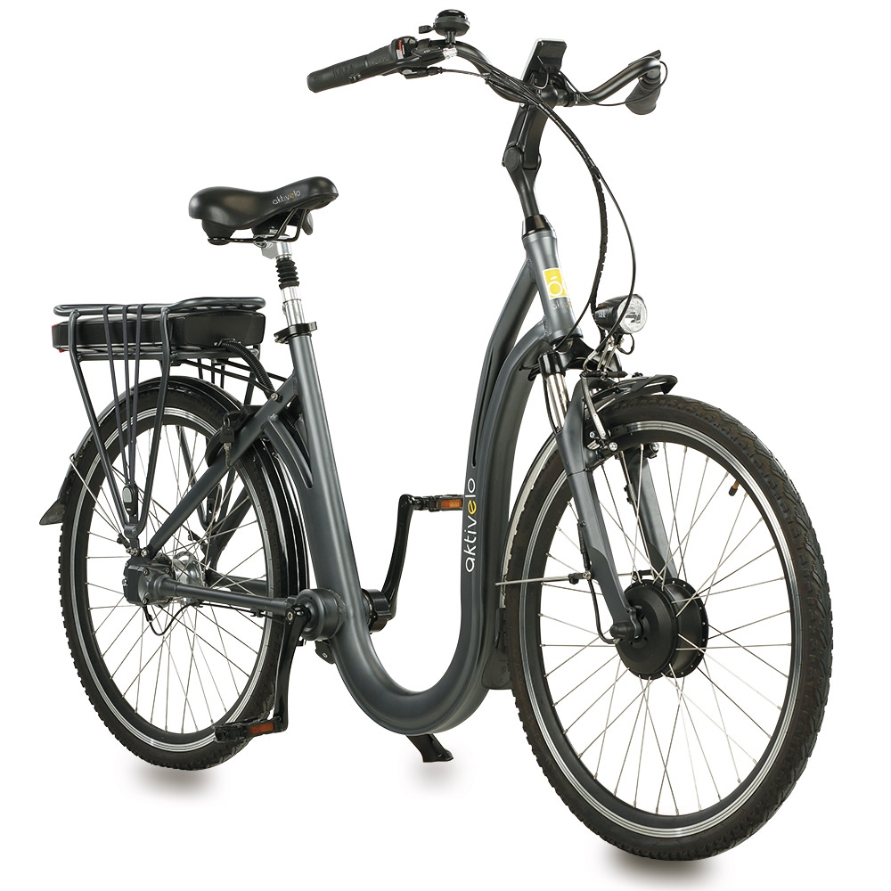 Das aktivelo Tiefeinsteiger-Rad »Kardan« mit leichtem Rahmen aus hochwertigem Aluminium bietet zuverlässigen Fahrspaß.